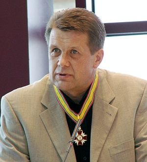 BC Šiauliai - Former BC Šiauliai player Antanas Sireika worked as the head coach of the club for seven straight seasons before joining Lithuania men's national basketball team, which won the European title during his debut years.