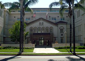 Chapman University School of Law - Entrance to School of Law