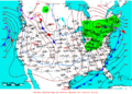 2009-02-19 Surface Weather Map NOAA.png