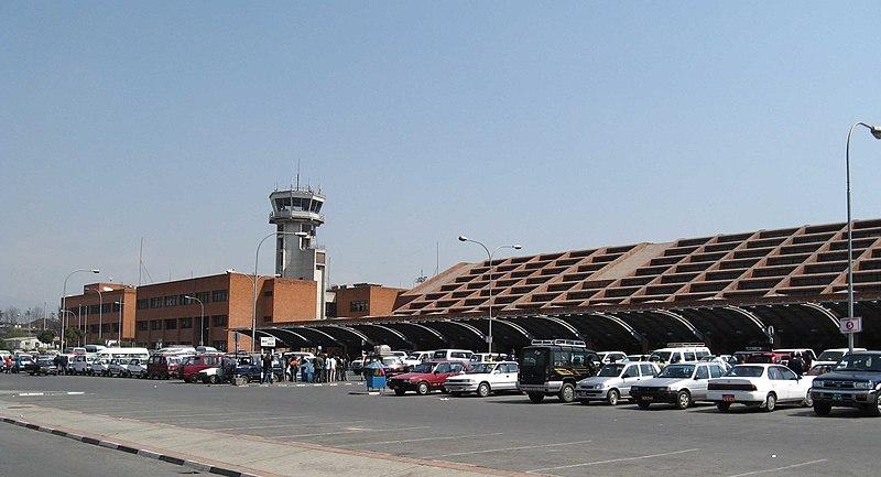 Bandara Internasional Tribhuvan, Kathmandu, Nepal.