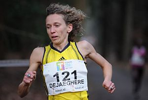 Eurocross - Belgian runner Veerle Dejaeghere won consecutively in 2007 and 2008