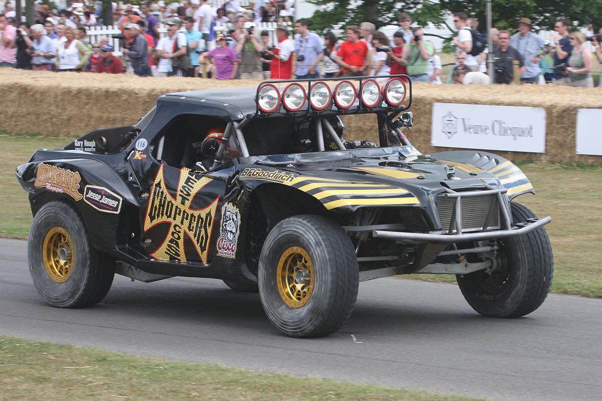 Trophy trucks fastest class of off road