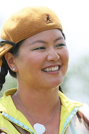 Christina Kim - Kim at the 2009 LPGA Championship