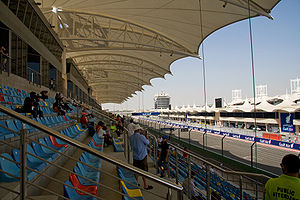 2010 Formula one Bahrain Grand Prix gallery.