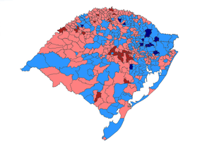 2010 Brazilian presidential election results - Rio Grande do Sul.PNG
