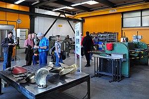 2012 'Tag der offenen Werft' - ZSG Werft Wollishofen - Schlosserei 2012-03-24 13-48-52.jpg