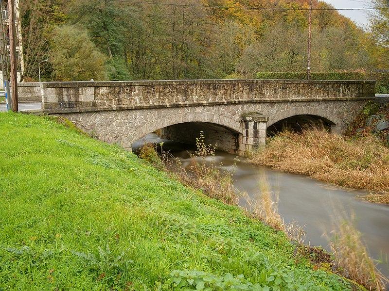 This file was uploaded  with Commonist.    La Rosemontoise, à Éloie (France).  Photo réalisée avec un filtre ND400.