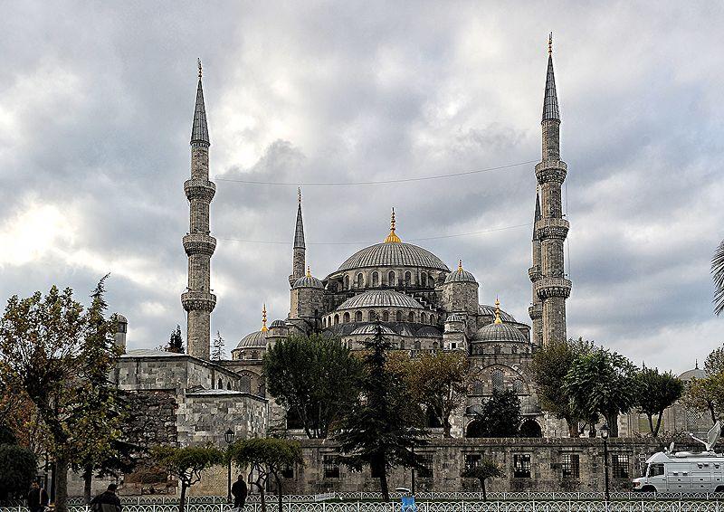 Masjid Sultan Ahmed Turki.