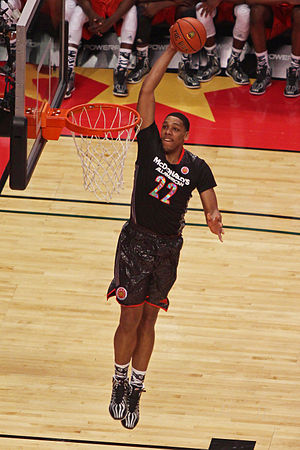 Jahlil Okafor - Okafor dunking during the 2014 McDonald's All-American Boys Game