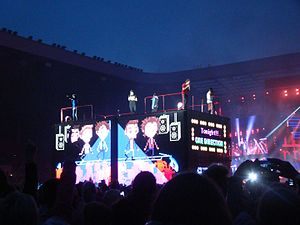 Midnight Memories - One Direction during Where We Are Tour at Stadium of Light.
