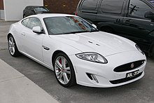 2014 Facelift Jaguar XKR Coupé