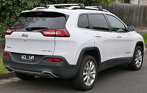 Jeep Cherokee (KL) - Australian version of the Cherokee
