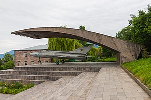 Artem Mikoyan - Memorial to Artem Mikoyan in Sanahin