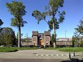 2015, Scheveningen Prison The Hague, old main gate (01).jpg