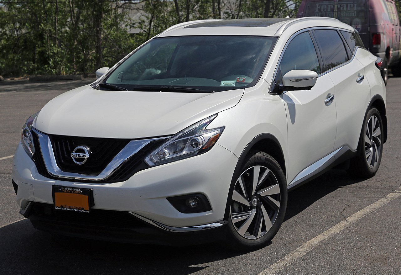 File:2015 Nissan Murano SV AWD, front left.jpg - Wikimedia ...