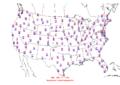 2016-04-13 Max-min Temperature Map NOAA.png
