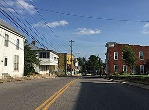 Timberville, Virginia - Main Street in Timberville