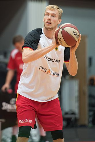 Niels Giffey - Giffey with Germany in 2016