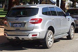 2016 Ford Explorer Towing Capacity >> Ford Ranger (T6) - Wikipedia