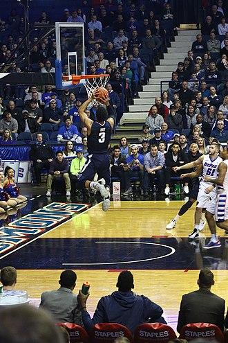 Josh Hart (basketball) - Hart dunking the basketball in 2017