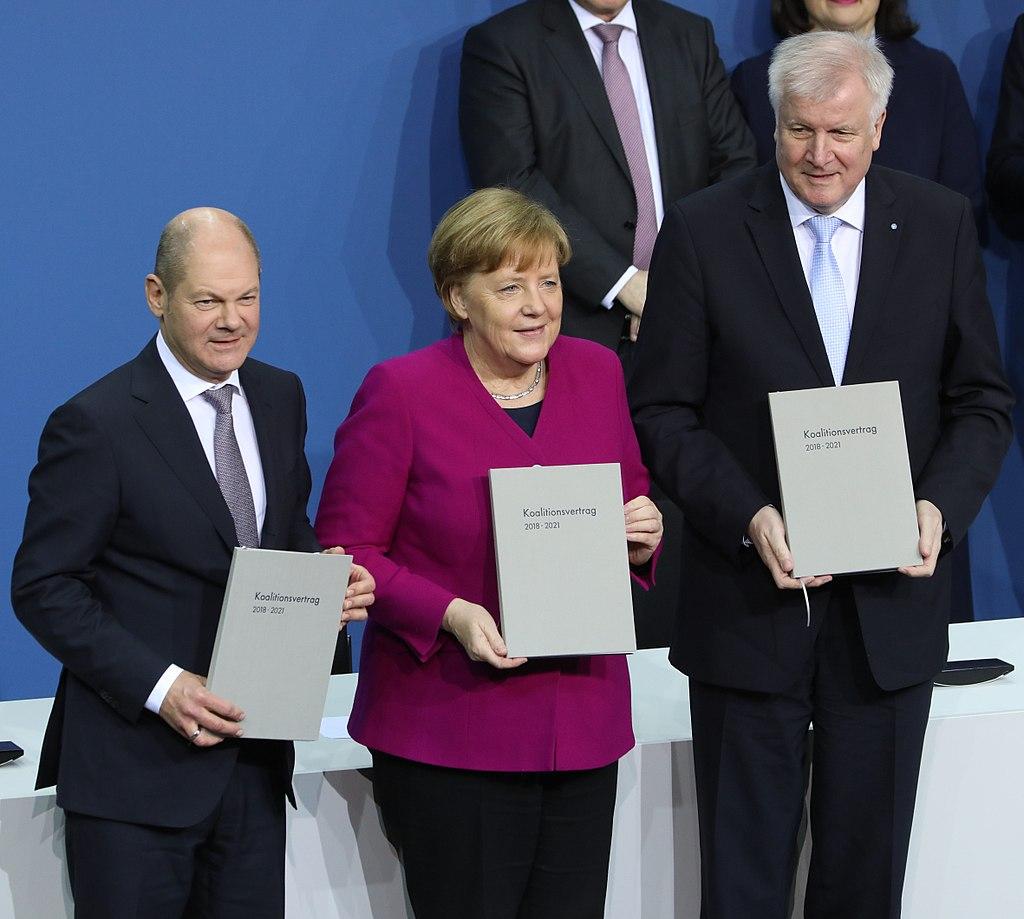 2018-03-12 Unterzeichnung des Koalitionsvertrages der 19. Wahlperiode des Bundestages by Sandro Halank–054.jpg