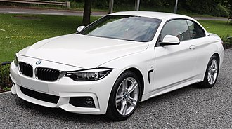 BMW 4 Series - Facelift F33 convertible