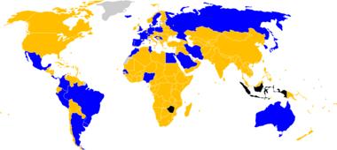 Equipos clasificados para la Copa del Mundo Equipos no clasificados para la  Copa del Mundo Equipos expulsados del torneo por la FIFA antes de jugar un  ... 51ae44aff884b