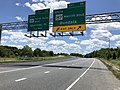 2019-06-14 13 24 01 View south along the Inner Loop of the Baltimore Beltway (Interstate 695) at Exit 39 (SOUTH Maryland State Route 157-Merritt Boulevard, Dundalk) in Dundalk, Baltimore County, Maryland.jpg
