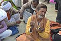 2019 Feb 04 - Kumbh Mela - Portrait 13 - busking with manjeera.jpg
