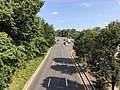 2020-08-26 16 10 08 View south along the northbound lanes of Maryland State Route 202 (Landover Road) from the overpass for Maryland State Route 295 (Baltimore-Washington Parkway) in Landover, Prince George's County, Maryland.jpg
