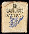 20 Gauloises Caporal originaire cigarettes pack, front.JPG
