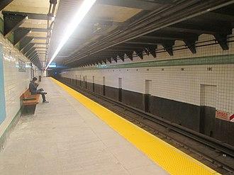 23rd Street (IND Sixth Avenue Line) - Downtown platform