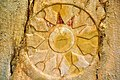 24. Detail. Divine emblem probably representing the goddess Ishtar-Anahita. The facade of the rock-cut tombs of Qizqapan, Sulaymaniyah Governorate, Iraqi Kurdistan. Probably Achaemenid (6th-5th century BCE) rather than Median.jpg