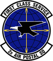 2 Air Postal Sq emblem.png