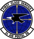 2 Air Postal Sq emblem.png