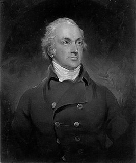 Thomas Pelham, 2nd Earl of Chichester 18th/19th-century British politician
