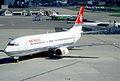 34cn - Air Malta Boeing 737-4H6; 9H-ADK@ZRH;07.08.1998 (6328245389).jpg