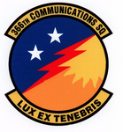 366 Communications Sq emblem.png