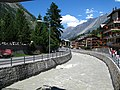 3721 - Zermatt - Vispa viewed from Rechte Uferstrasse.JPG