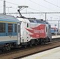 380 No. 380 011-7 heads a Prague bound express from Vienna. - 16476170577.jpg