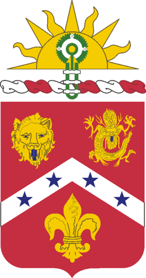 3rd Field Artillery Regiment (United States) - Coat of arms