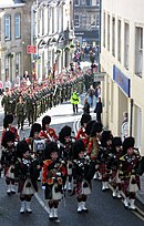 3 SCOTS receiving the Freedom of Fife, 2006.jpg