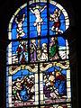4285.Bunte Bleiglasfenster-Die Bibel in Bildern- Verständlich auch für die nicht Wort und Schrift lesen könnende Bevölkerung vergangener Zeiten-Saint Thegonnec.JPG
