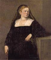 44 Dama de luto (Gemäldegalerie de Dresde, c. 1550-1555).jpg