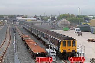 NIR Class 450 - Image: 450's at Adelaide