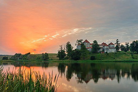 Svirzh Castle, Ukraine.