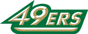 2016–17 Charlotte 49ers men's basketball team - Image: 49ers wordmark
