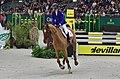 54eme CHI de Genève - 20141213 - Prix de la Fédération d'Elevage du Cheval de Sport CH - Pénélope Leprevost et Cayman Athletic CH.jpg