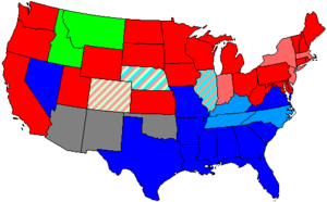 United States House of Representatives elections, 1900 - Image: 57 us house membership