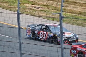 Matt DiBenedetto - DiBenedetto racing at New Hampshire Motor Speedway in 2015